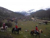 Excursion hipica desde la sierra