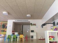 中心为孩子们足够的空间用于儿童的带轮玩具