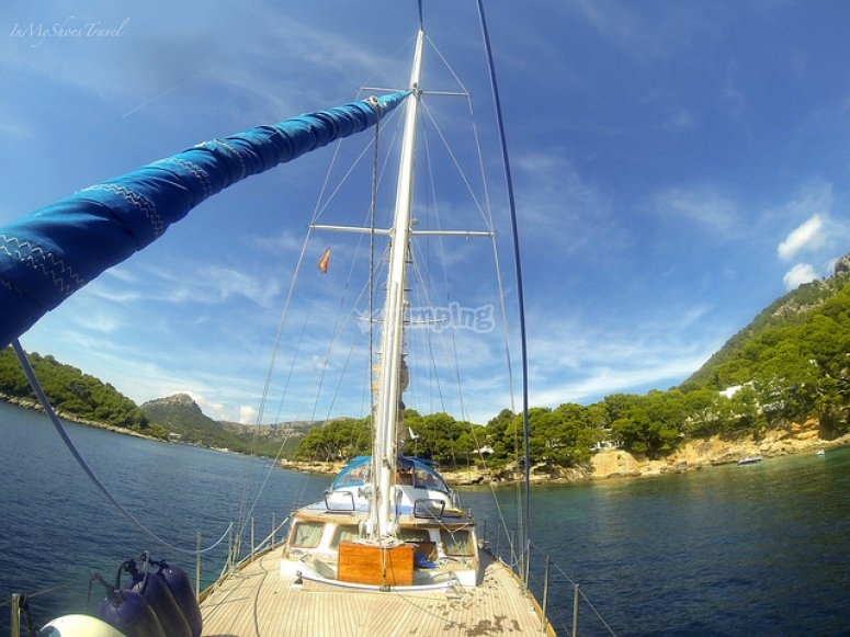 帆船马略卡岛