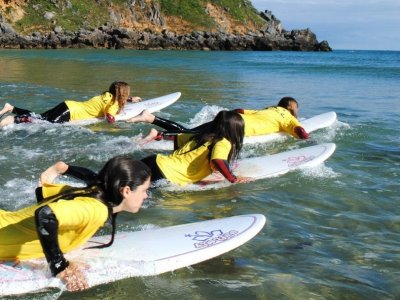 Surfing camp + English, Berria beach, 10 days