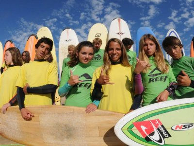 Surfing summer camp, 7 days in Berria beach