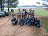 Paintball with friends