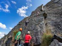 在巴达霍斯(Badajoz)进行攀登