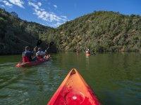 通往塔霍自然公园的皮划艇路线