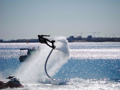 60-Minutes Flyboard Session for 3 in Garrucha