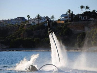 Flyboarding session 5 people 1h 40min, Garrucha