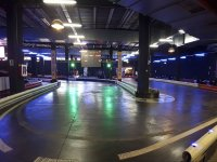Curve in the indoor circuit