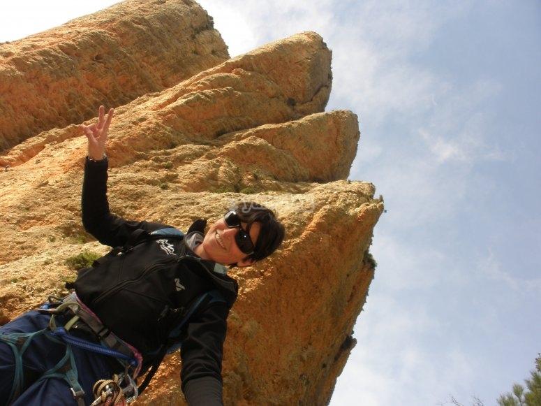 Climbing camp