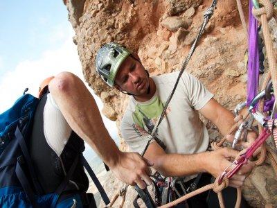 在Riglos的攀岩营地,2人4天