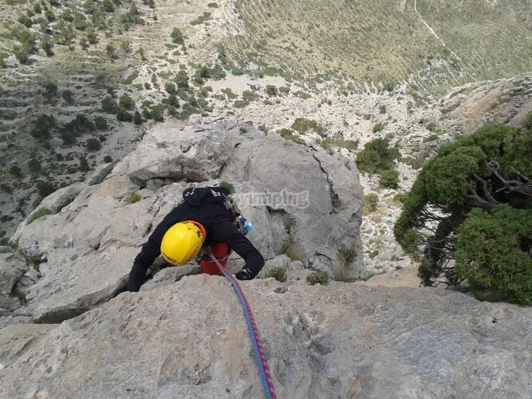 4 días de escalada