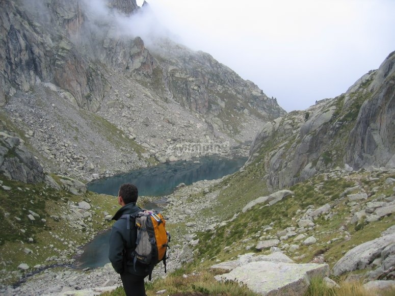 Día en la montaña