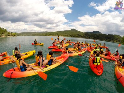 Canoeing in La Toba Reservoir, 2-Hours