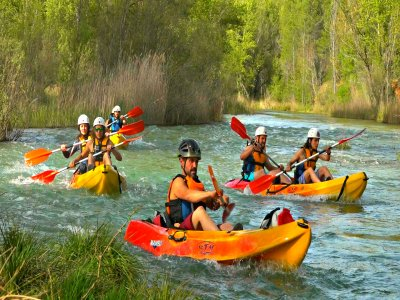 Canoa nelle acque veloci di Júcar, 2 ore