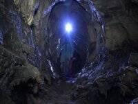 Espeleología en la cueva del Tío Manolo iniciación