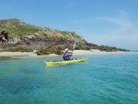 享受穿越阿尔梅里亚的皮划艇路线