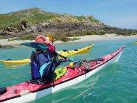 在Roquetas令人难以置信的皮划艇之旅