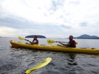 Getting to know Roquetas in a double kayak