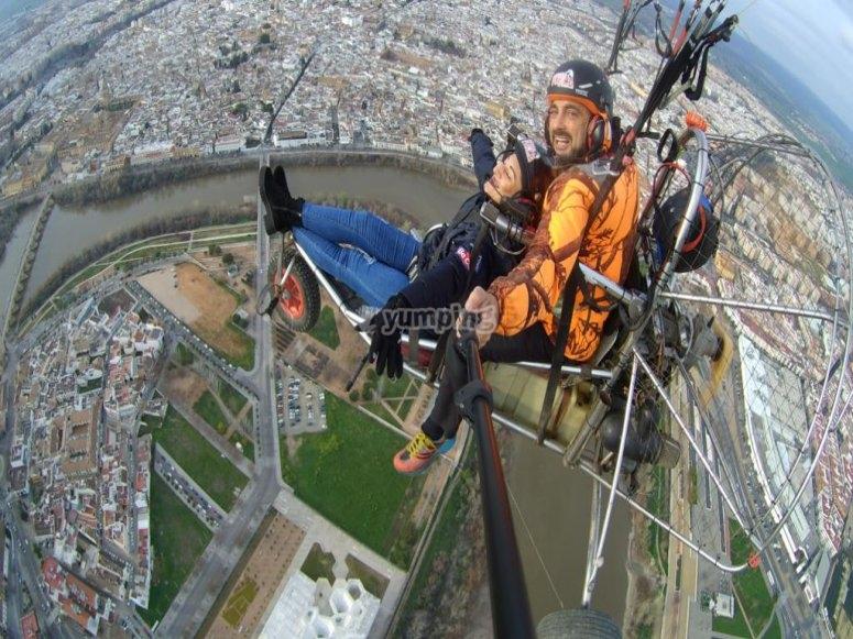 Dal paracadute sulla capitale di Cordovan