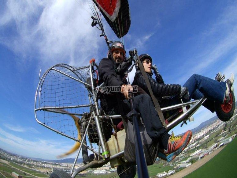Volo in paramotore in tandem a Córdoba