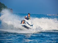 The freedom to know the Mediterranean riding a jet ski
