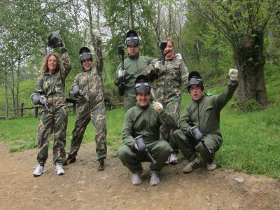 Paintball 200 balls, Uña