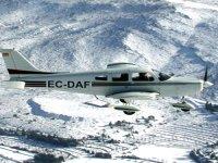 Una de nuestras avionetas