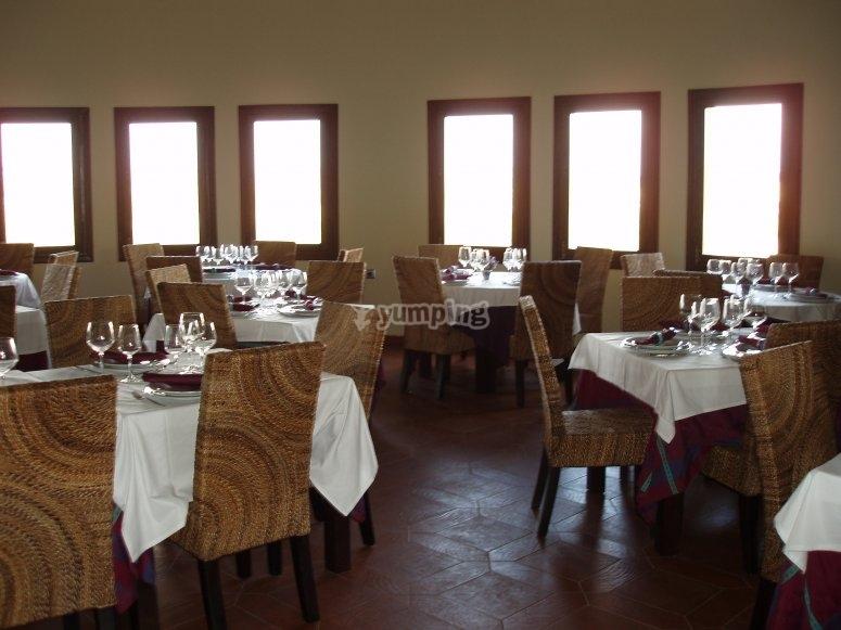Mesas para catas de vino en Albacete