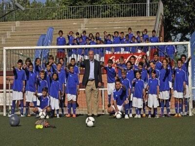Campus fútbol, Vicente del Bosque, 2 sem. Madrid