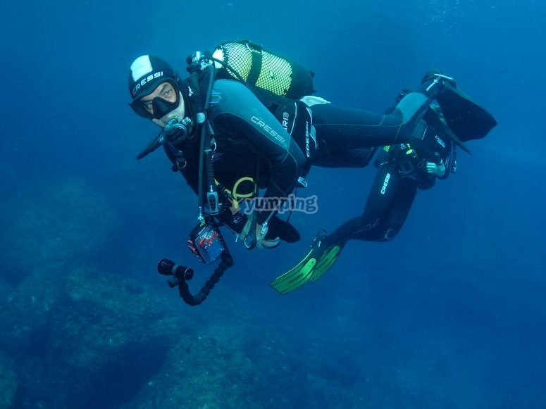 Diving in Benidorm