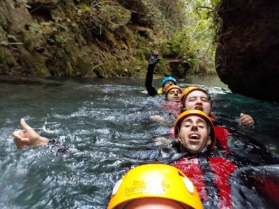 Water Canyoning Escalera Gorgo in Anna