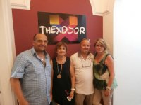 Family members in escape room of Lleida