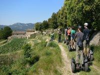 Excursion guiada en Arenys en segway