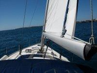 Alquiler de velero con patrón en S'estanyol