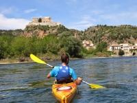 Canoa en el Ebro