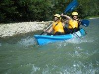 Corrientes en rio Aragon