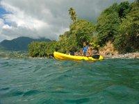 Iniciación al kayak