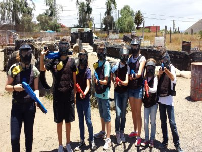 Paintball for children over the age of 7, Guimar