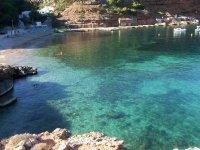 伊比沙岛的海湾