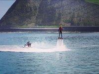 Flyboard en la costa vizcaina