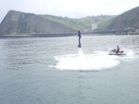 Flyboard y moto con instructor