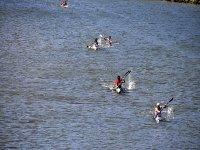 A bordo dei kayak attraverso il Sella