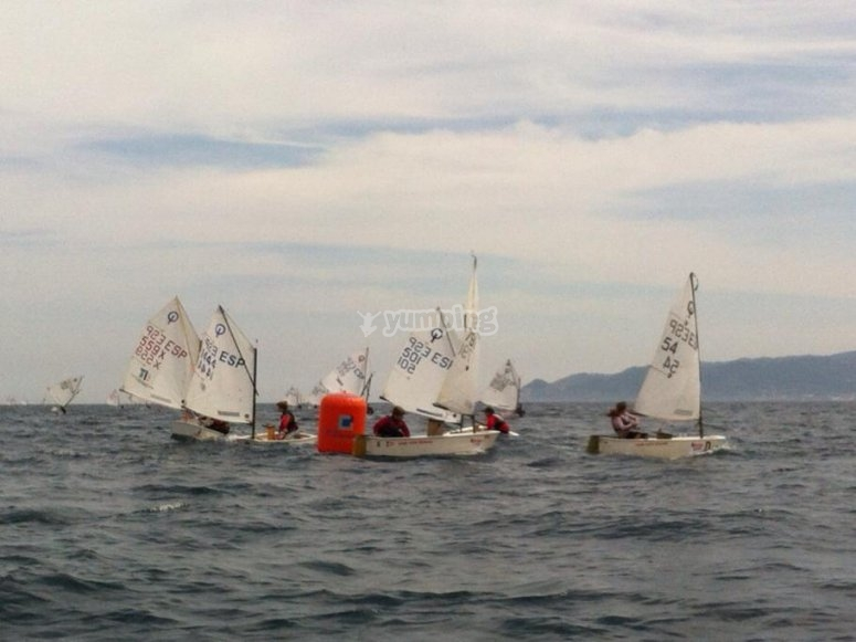 Grupo de barcos