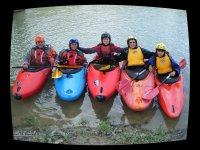 Cursos de perfeccionamiento en kayak