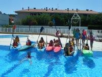 Actividades en piscinas