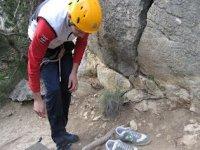 准备登山设备