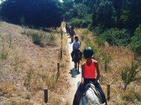 Paseo a caballo por los alrededores de Villafranca