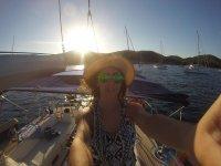 A bordo della barca a Salinas
