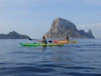 Ibiza in canoe