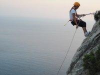 Impressive climbing landscape