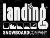 Landing Snowboard